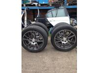 HRS BRANDED ALLOYS W TYRES