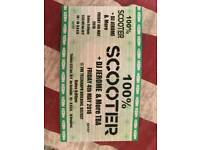 Scooter ticket