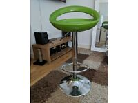 Green kitchen / bar stool