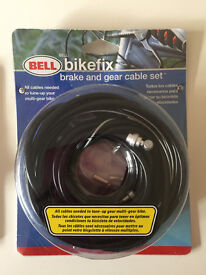 NEW bike bicycle brake and gear cable set