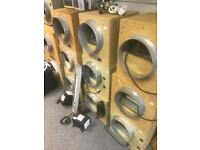 """Used Hydroponic Growing Equipment 10"""" & 12"""" 4250 3250m3/hr 2500 1500 Acoustic MDF Box Fans"""