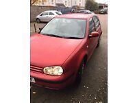 2002 VW Golf MK4 1.6 Petrol Rust Free No mot