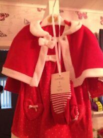 Babys christmas dress