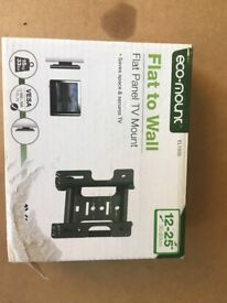 Flat Screen TV Wall Mount for small TVs 12-25inch.