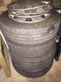 Tyres 165/70/R14