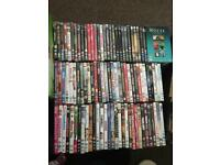 Bundle of over 90 DVDs