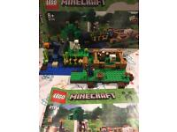Lego Minecraft sets 21113, 21114, 21115, 21116