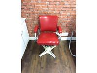 Barbers/decor/tattoo shop chair