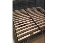 Super king size bed frame needs two slats which can be purchased online very easily