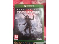 Xbox one rise of the tomb raider.