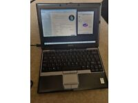 Dell Latitude D420 laptop Windows 7 + charger - working condition