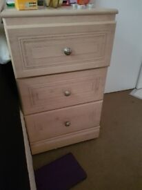 2 light brown chest of drawers need gone today no longer needed