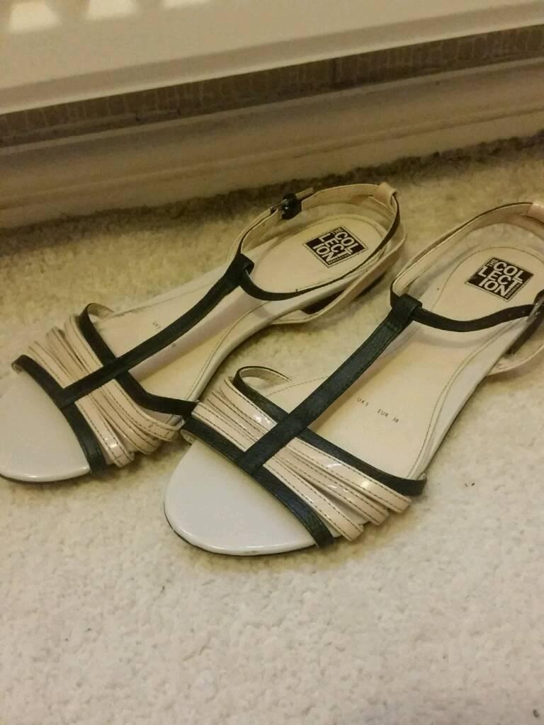 Black sandals debenhams - Debenhams Sandals Size 5