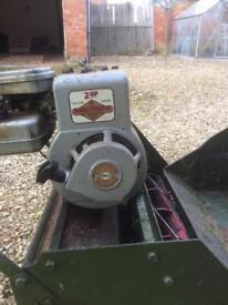Cylinder mower Webb