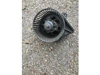 Vauxhall vivaro heater fan motor
