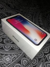 iPhone X - 64GB Space Grey (NEW SEALED bought at Apple Covent Garden w/ Receipt)