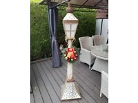 cosco tall Christmas lamp