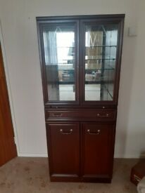 G Plan display cabinet/cocktail cabinet in very good condition,