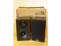 Pair of Gale Series 3010s Loud Speakers. As new condition. Black. 2-way. 80 Watts RMS.
