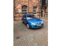Rover 1.4 2005 Long Mot A Reliable Car not ford Corsa
