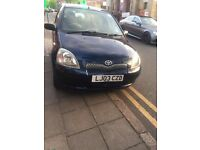 TOYOTA YARIS VVT-I 1.3 5dr (2003). PETROL. MANUAL. EXCELLENT FIRST CAR. CHEAP TO RUN. LOW INSURANCE.
