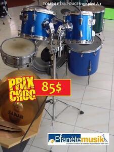 SPÉCIAUX PRIX CHOC - Batteries - Cymbales - Pieds - Pédales - Accessoires