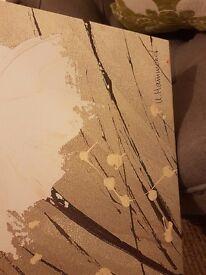 Large hammond canvas print.