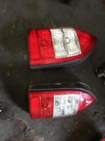 2005 Vauxhall zafira back lights