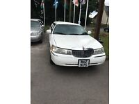 Lincoln Limousine for sale. Mot for year. Good condition inside