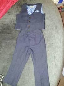 Next dark blue suit 12-18months