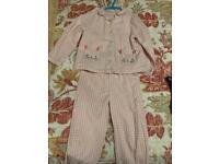 John Lewis pink pajama