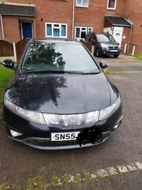 Honda civic 2.2 diesel.black.quick selling.nice drive.got small dent on passenger door