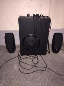 Speaker set £15