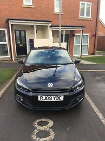 Vw scirocco 2009 plate