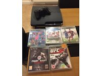 PlayStation 3 plus 5 games excellent condition collect at Huyton or I can deliver locally
