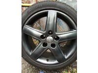 """Audi alloys wheels 17"""" 5x112 vw t4"""