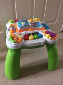 Kids toys for sale: musical table, walker, etc
