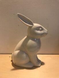 Rabbit ceramic money box for sale!