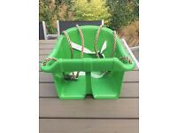 Baby/toddler bucket garden swing - NEW