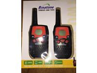 Brand new Binatone walkie talkies TWO