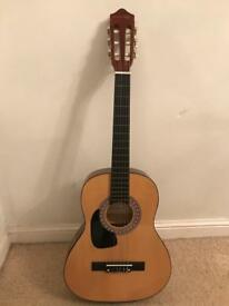 brand new half size left hand guitar
