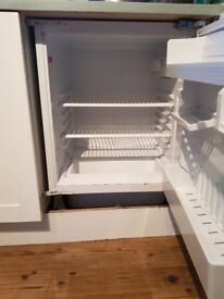 Indesit fridge and freezer