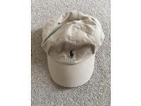 Ralph Lauren Polo Vintage Beige Cap