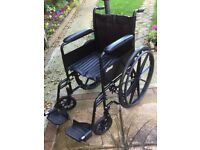 drive wheelchair for sale in black and excellent condition