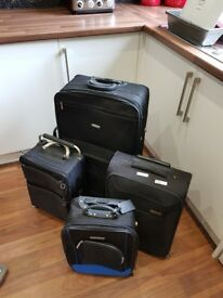 Mixed suitcases