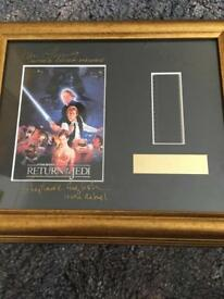 Signed Star Wars collectible