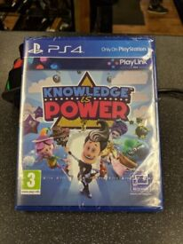 Sony Knowledge is Power (PS4) new still wrapped unopened £ 10