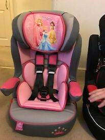 unused Disney Princesses Car Seat