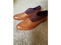 Brand New Size 10 Leather and Suade