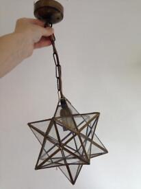 Small star light with ceiling light